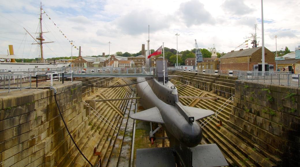 Museo marítimo Historic Dockyard Chatham