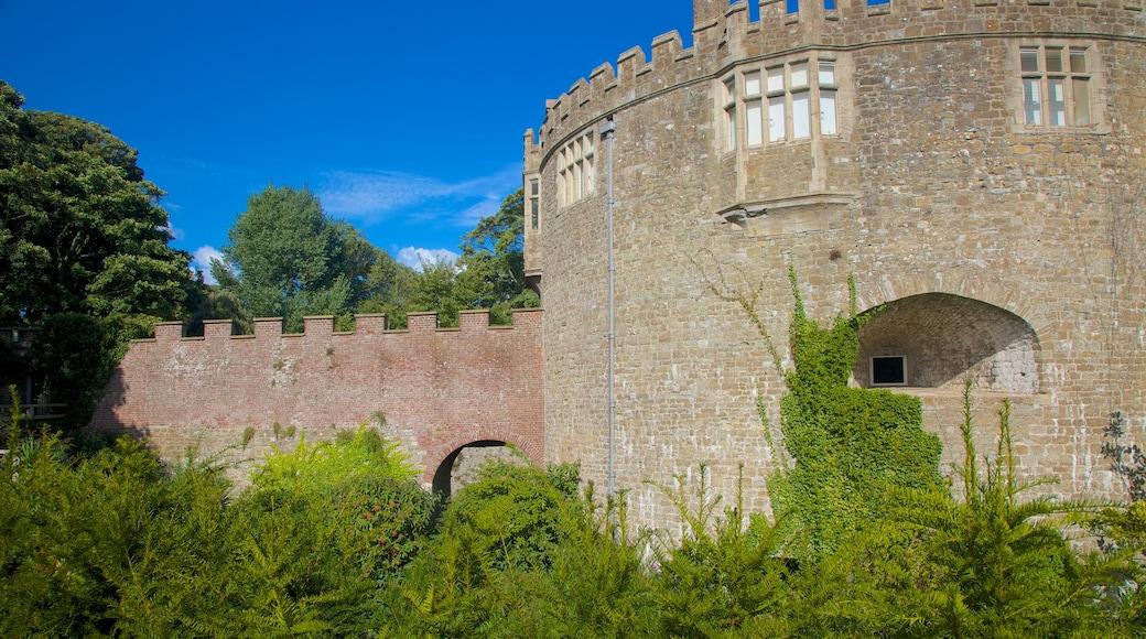 Castillo y jardines de Walmer que incluye palacio