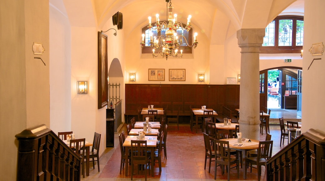 Lowenbrau showing interior views and dining out