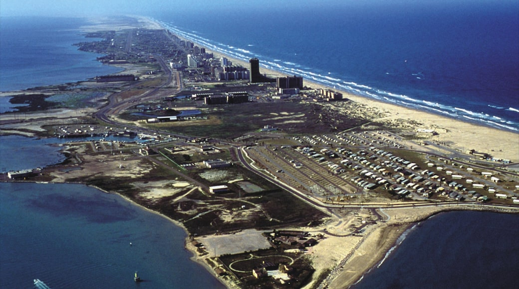 South Padre Island showing general coastal views and island views
