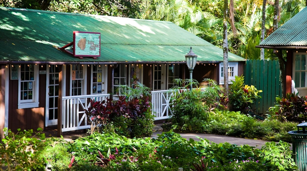 Koloa which includes tropical scenes and a house