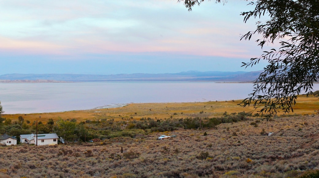 Mono Lake featuring landscape views and a lake or waterhole