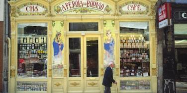 Porto montrant ville, shopping et art en plein air