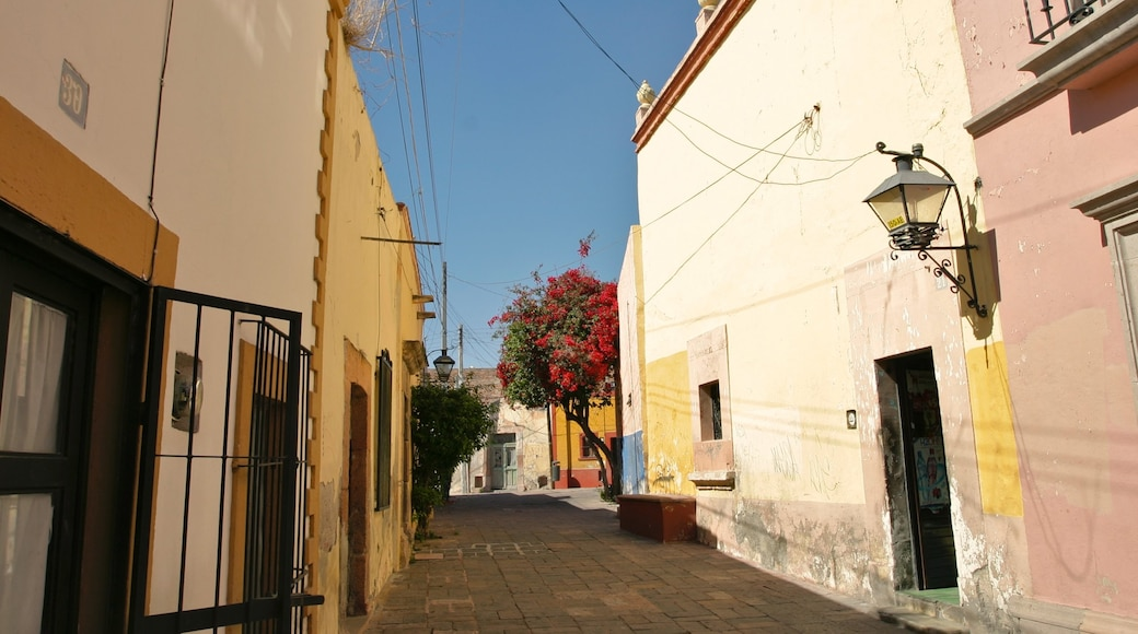 Queretaro featuring a small town or village and a house