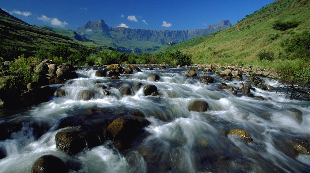 Kwazulu-Natal which includes landscape views and rapids