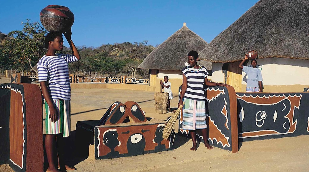 Musina showing art, a small town or village and outdoor art