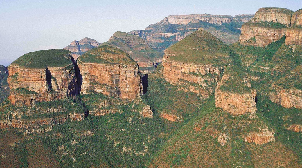Mpumalanga - Limpopo which includes landscape views and a gorge or canyon