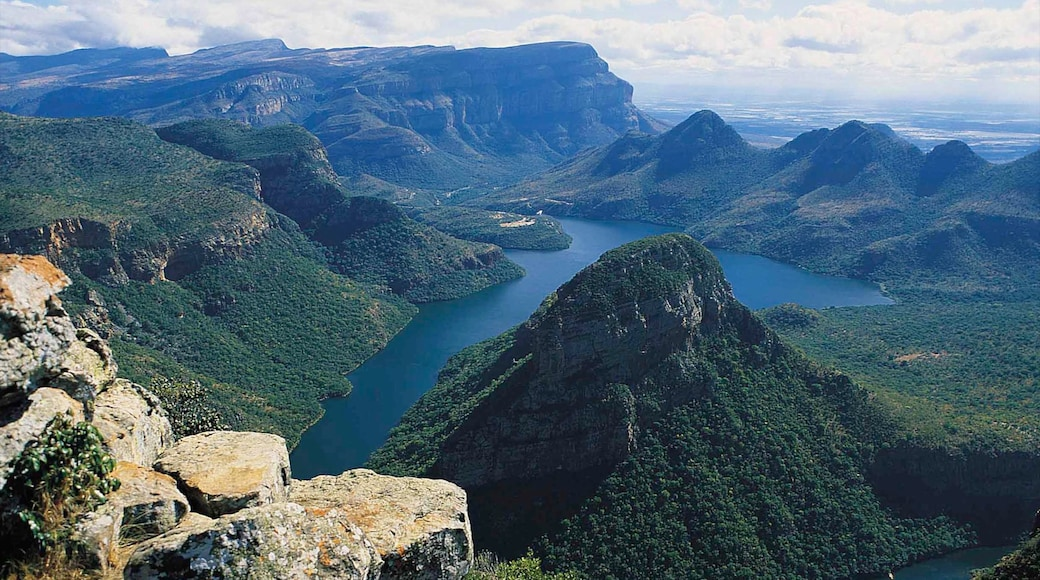 Mpumalanga - Limpopo featuring a gorge or canyon and landscape views