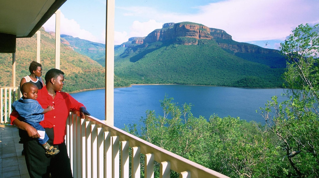 Mpumalanga - Limpopo featuring views, a river or creek and mountains
