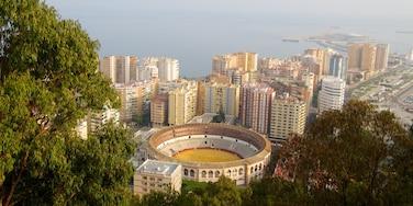 Malaga qui includes ville