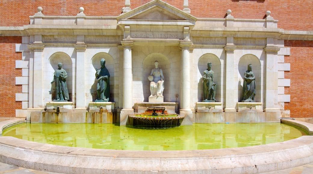 Stadtzentrum von Valencia das einen Outdoor-Kunst, Statue oder Skulptur und Kunst