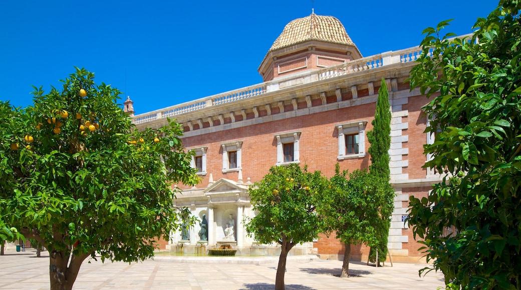 Stadtzentrum von Valencia mit einem Stadt und historische Architektur