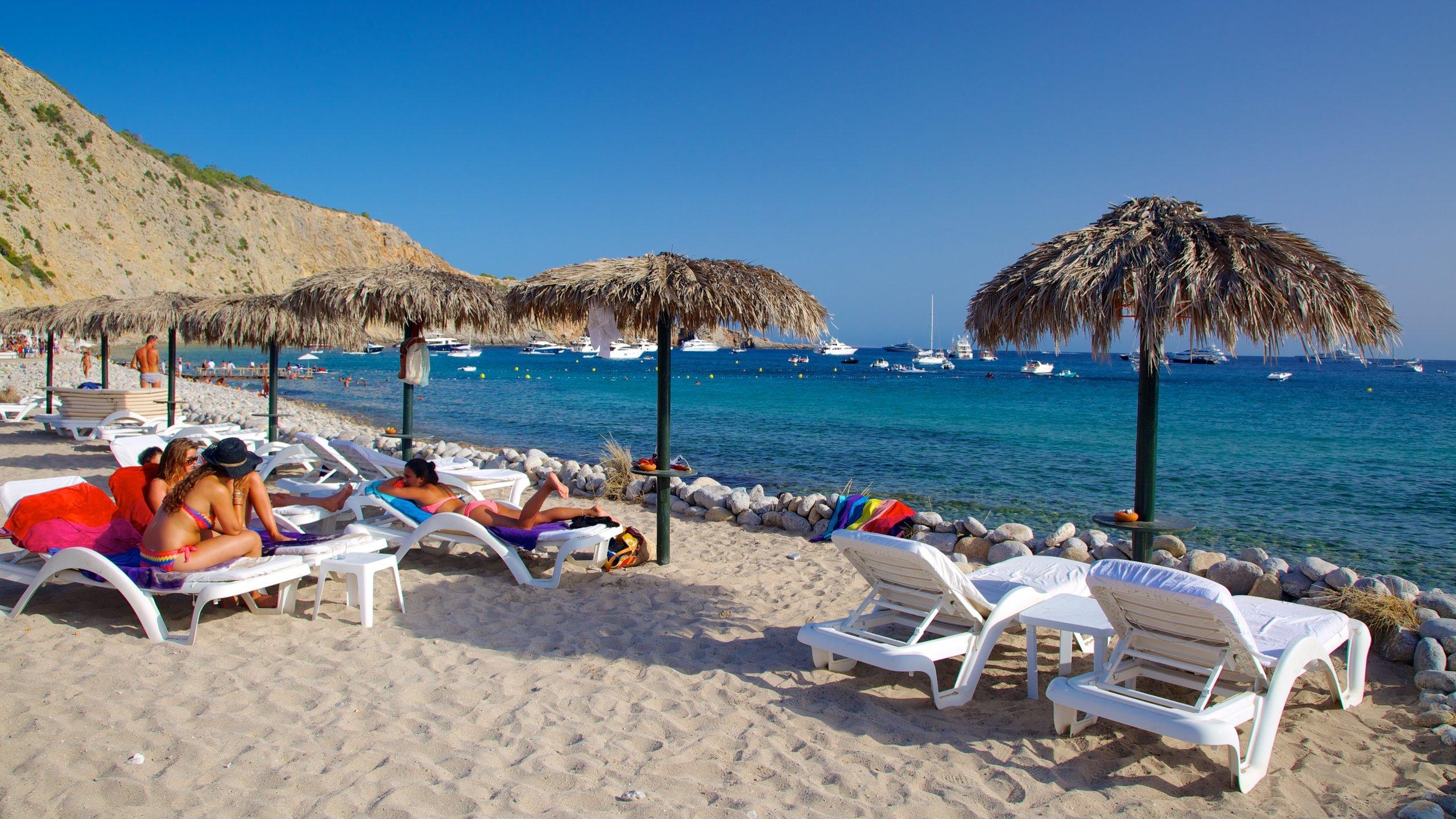 Cala Jondal Beach, Sant Josep de sa Talaia, Balearic Islands, Spain