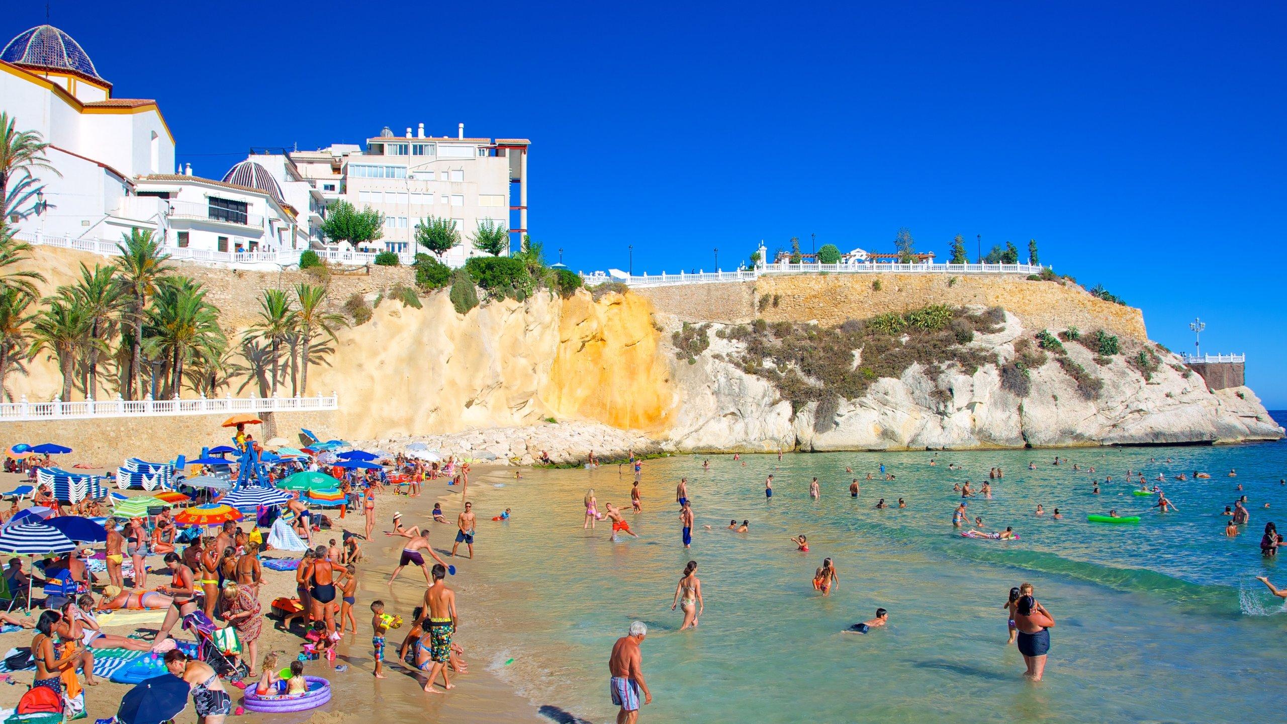 Malpas Beach, Benidorm, Valencian Community, Spain