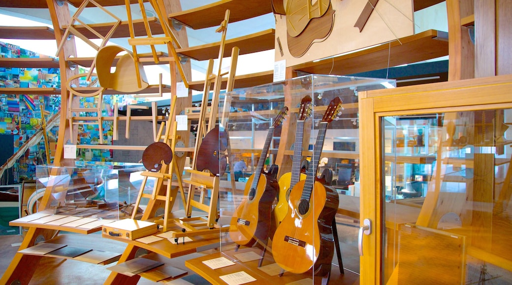 Prince Felipe Museum of Sciences featuring interior views and music