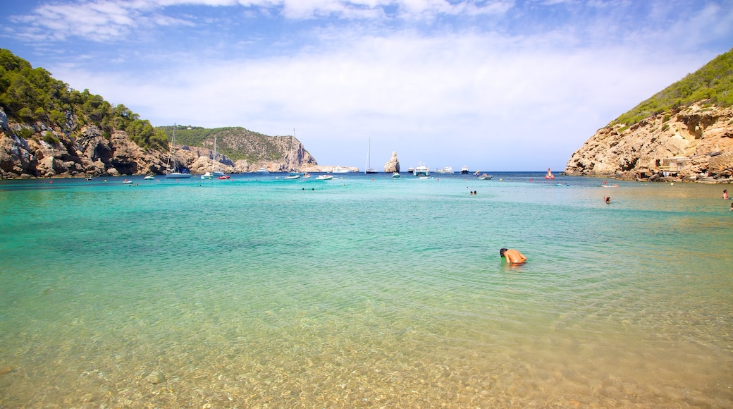 Strand von Benirras das einen Felsküste, Landschaften und Strand