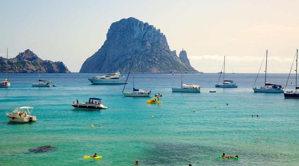 Spiaggia Cala d\'Hort caratteristiche di vista del paesaggio, immagini di isole e vista della costa