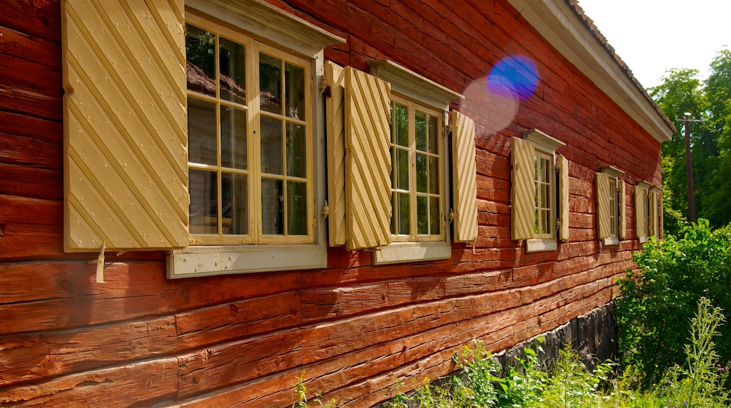 Skansen featuring a house