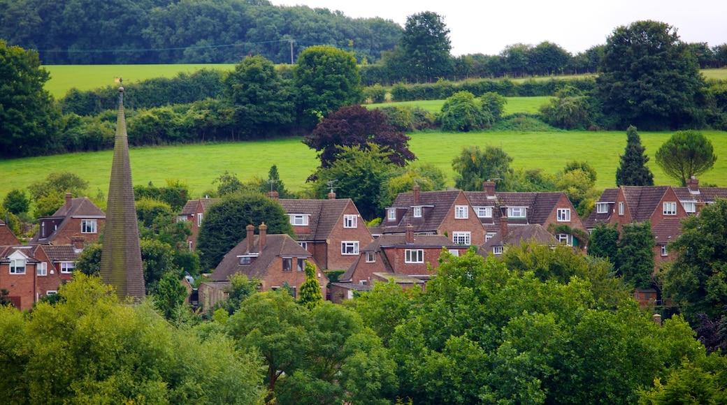 Eynsford das einen Haus, historische Architektur und ruhige Szenerie