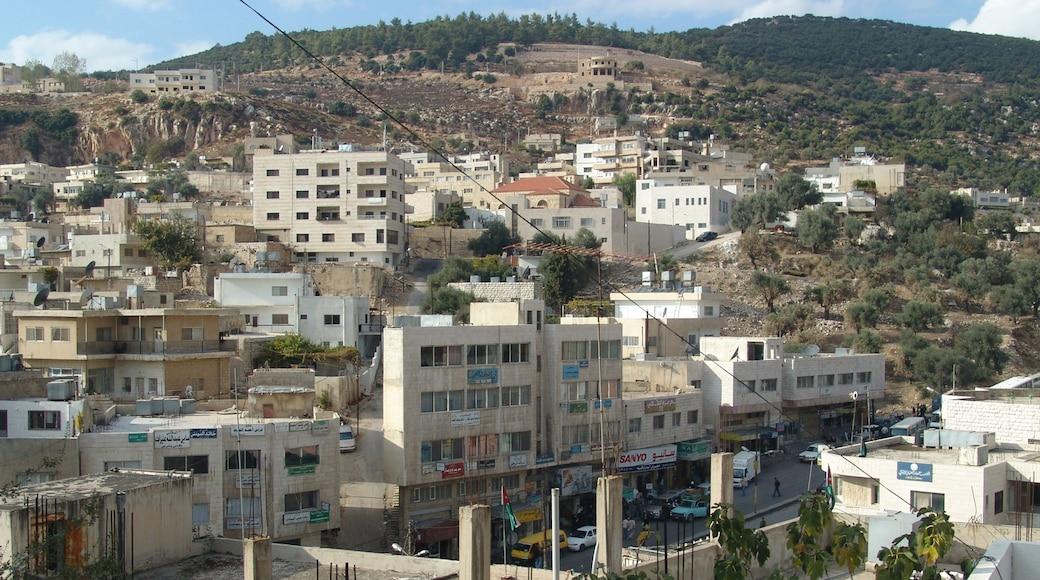 Ajloun presenterar en stad
