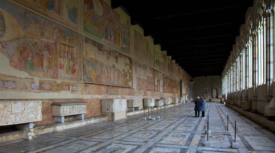 Camposanto showing interior views and heritage elements