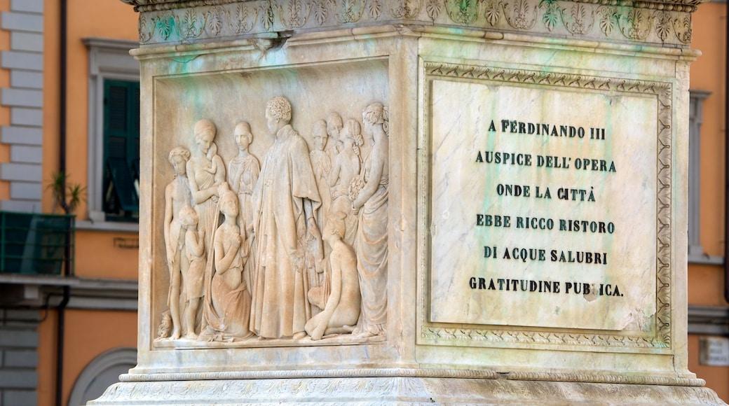Piazza della Repubblica das einen Monument, Outdoor-Kunst und Kunst