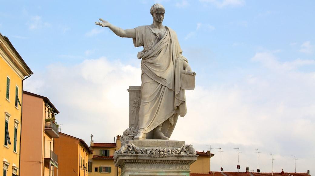 Piazza della Repubblica mit einem Statue oder Skulptur, Stadt und Platz oder Plaza