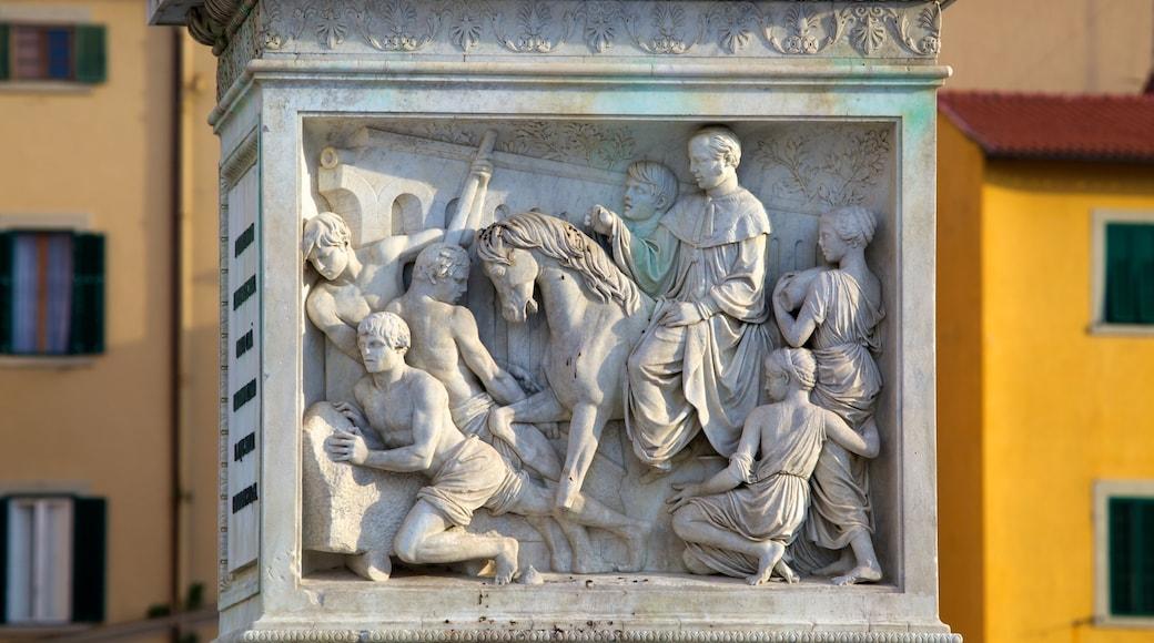 Piazza della Repubblica das einen Statue oder Skulptur, Outdoor-Kunst und Kunst