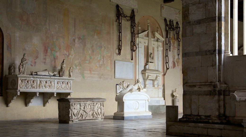 Camposanto showing heritage architecture, interior views and religious aspects
