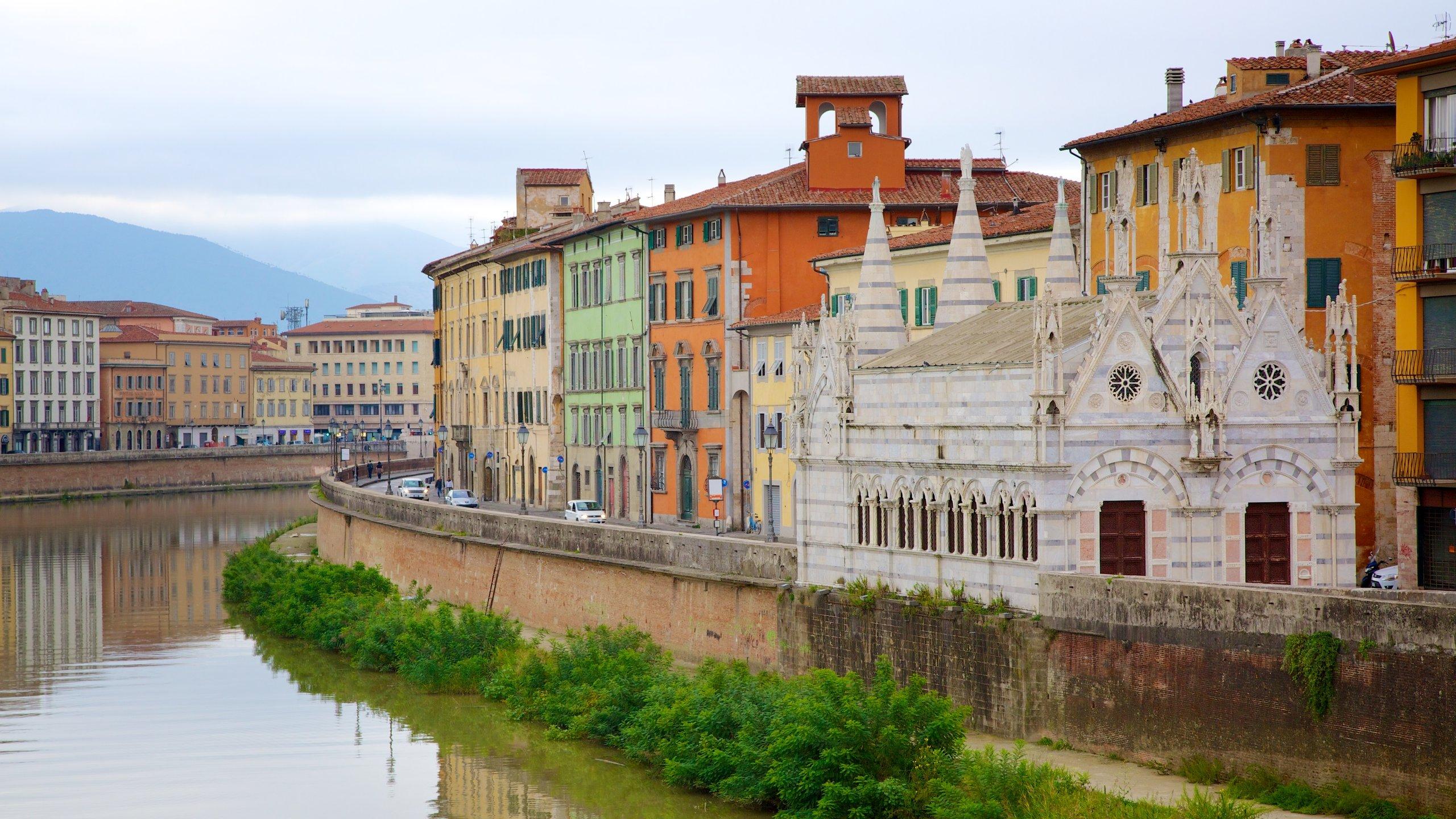 Stadtzentrum von Pisa, Pisa, Toskana, Italien