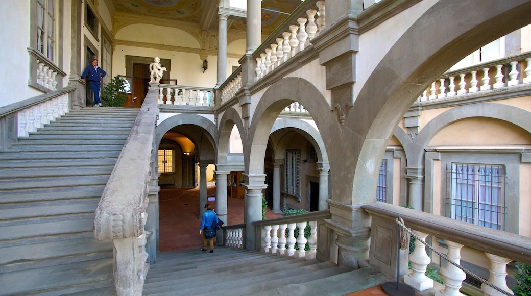 Palazzo Pfanner featuring a castle, heritage architecture and interior views