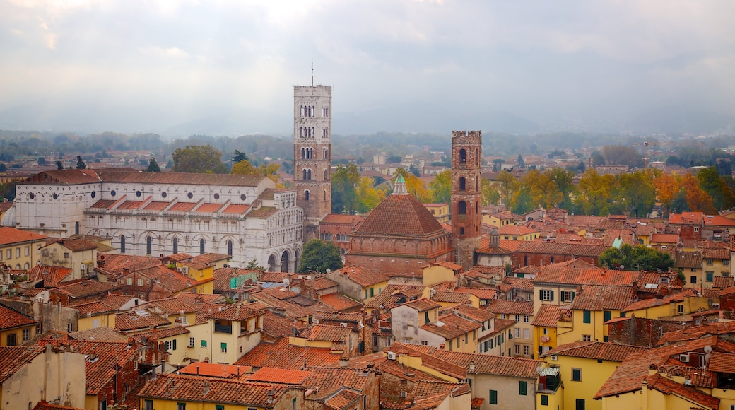 Torre delle Ore showing a city and heritage architecture