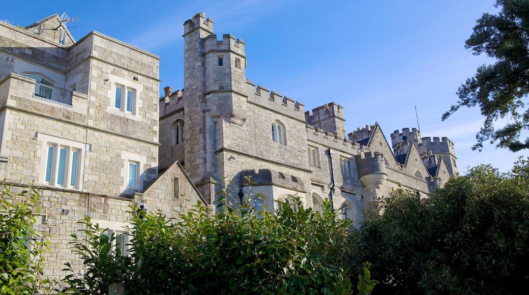 Southampton welches beinhaltet Burg, historische Architektur und Geschichtliches