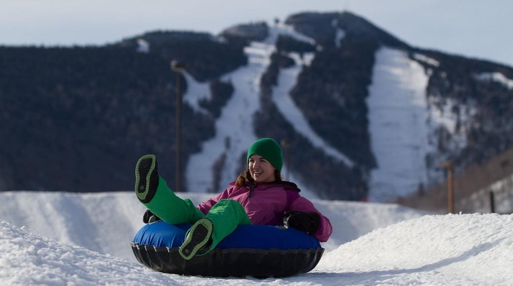 Killington Ski Resort mit einem Berge, Schnee und Snowtubing