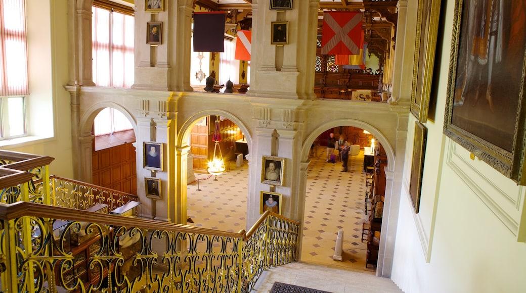 Saffron Walden featuring heritage architecture, heritage elements and interior views
