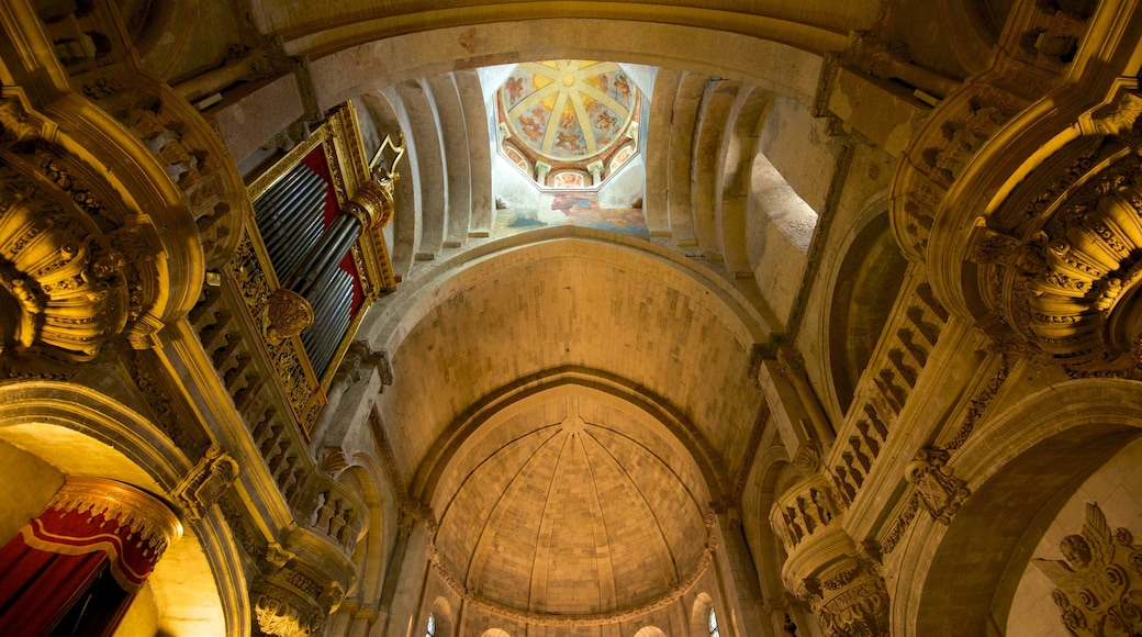 Avignon Cathedral showing religious aspects, a church or cathedral and interior views