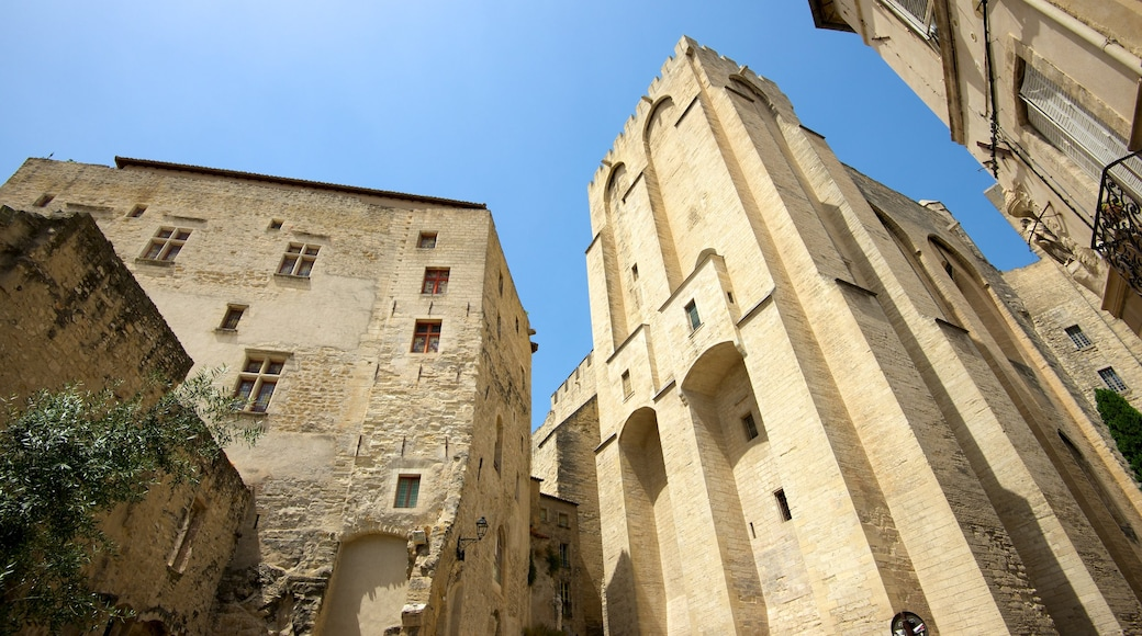 Palais des Papes featuring heritage architecture and heritage elements
