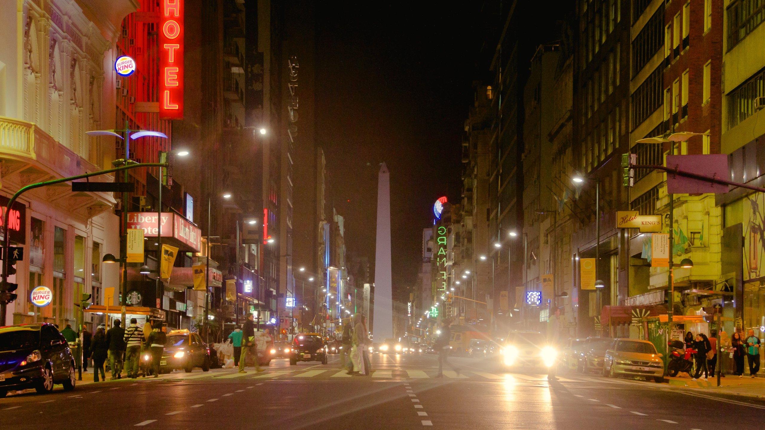 Avenida Corrientes, Buenos Aires, Argentinien