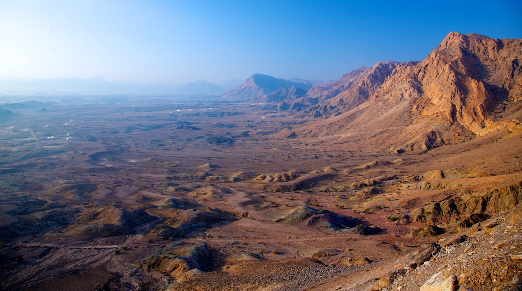Muscat which includes mountains and landscape views
