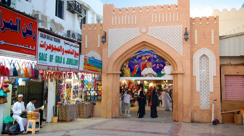 Souk von Matrah mit einem Stadt, Märkte und Einkaufen