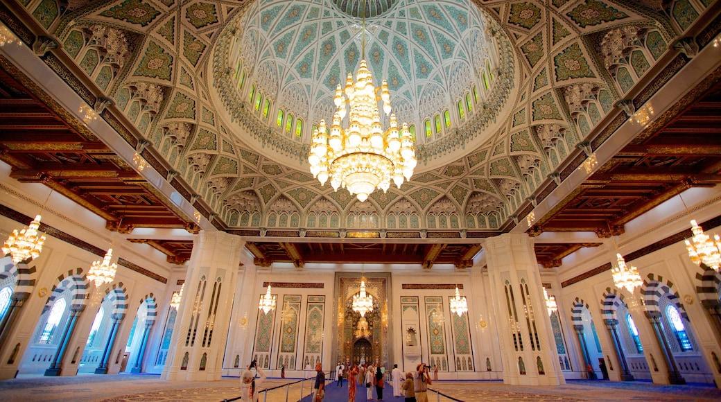 Omã mostrando arquitetura de patrimônio, aspectos religiosos e uma mesquita