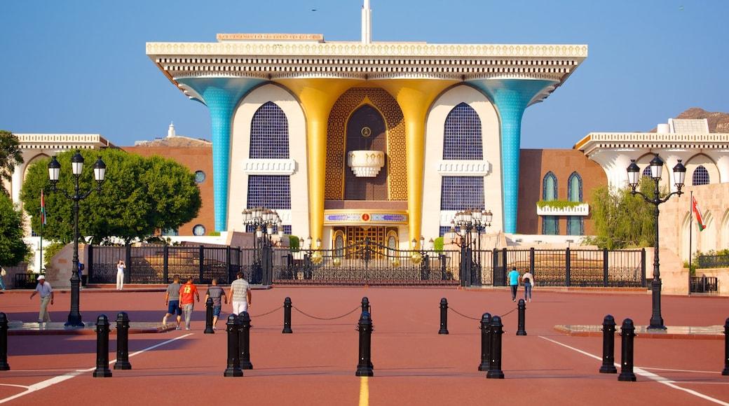 Muscat das einen moderne Architektur und Platz oder Plaza