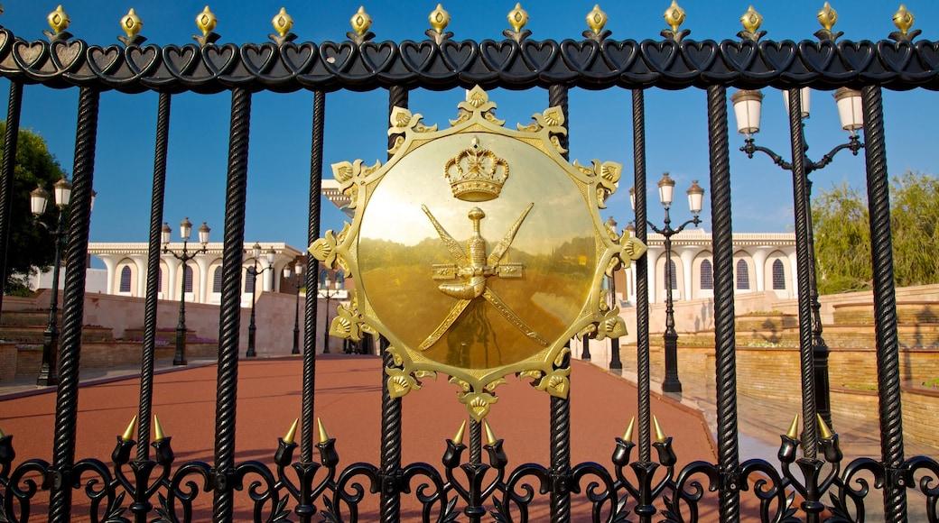 Muscat showing a castle