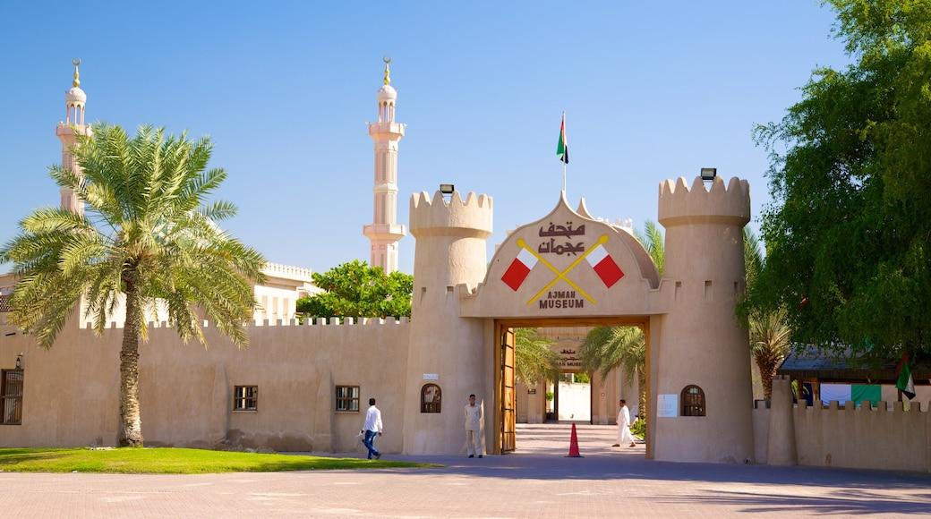 Ajman featuring heritage architecture