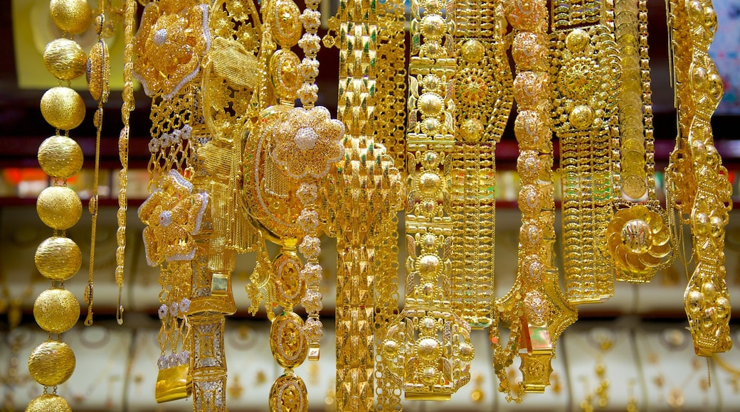 Gold Souk which includes shopping