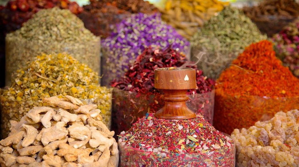 Souk aux épices qui includes marchés et nourriture
