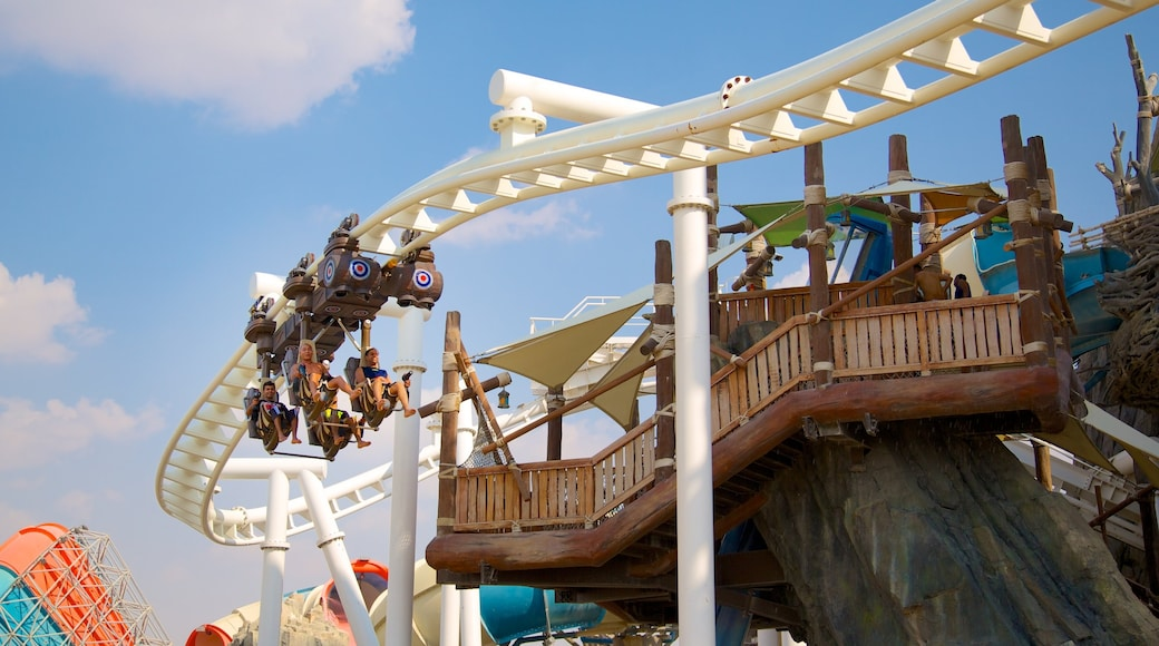 Yas Waterworld featuring rides and a waterpark