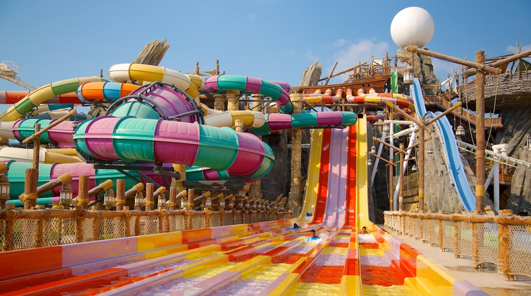 Yas Waterworld featuring a waterpark