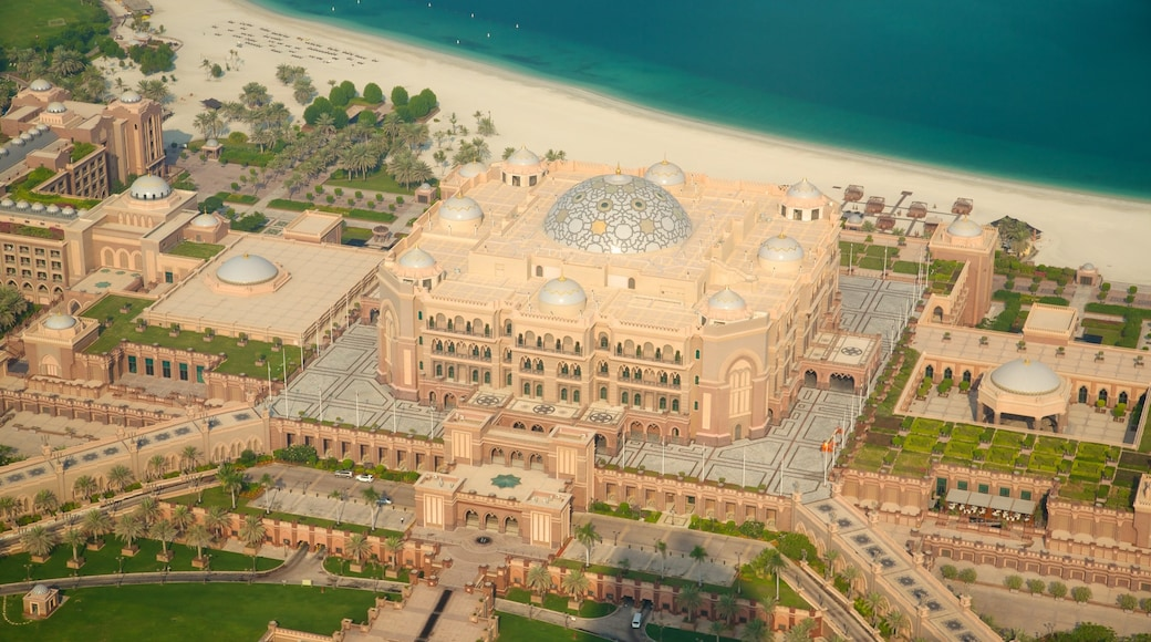 Abu Dhabi Emirate showing heritage architecture and château or palace