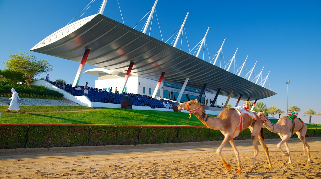 Dubai Emirate featuring modern architecture and land animals
